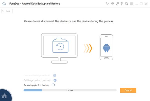 Top Outils Sauvegarde application et données d'application Android FoneDong Restore