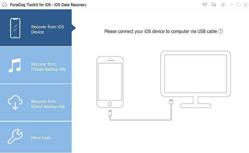 Scannez votre iPhone / iPad