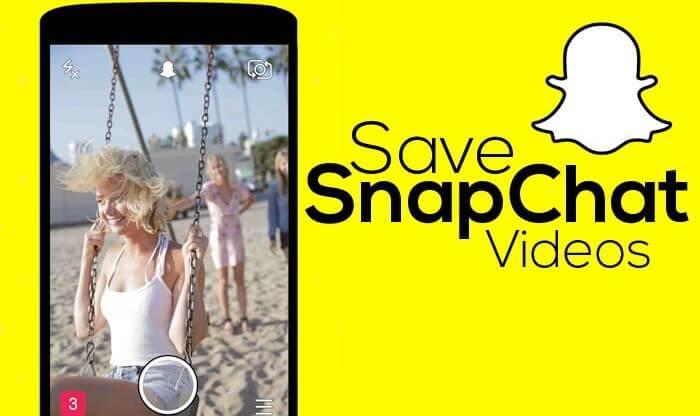 Enregistrer des vidéos Snapchat
