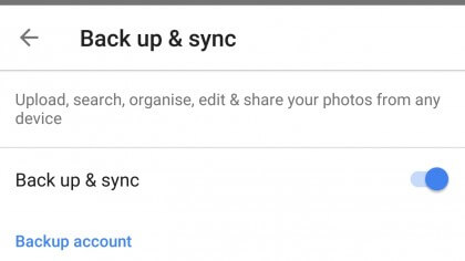 sauvegarde-synchronisation sur google