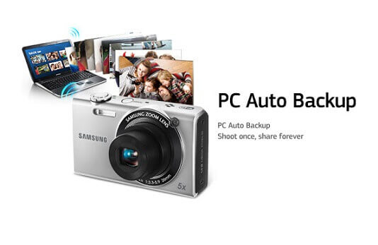 Sauvegarde automatique du PC sur la caméra intelligente Samsung