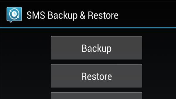 Sms Backup Restaurer Android