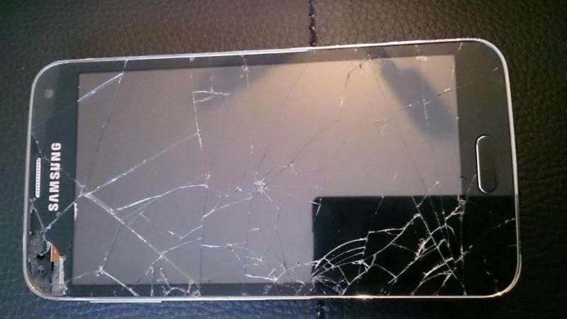 Messages Samsung cassés récupérés