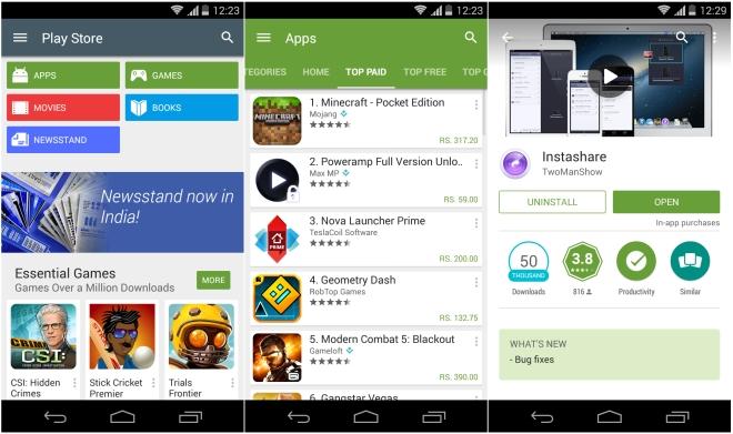 Évitez de télécharger des applications en dehors de Play Store pour éviter de perdre des photos sur Android