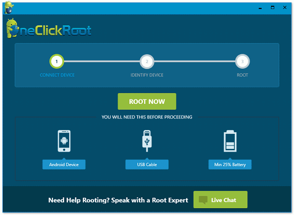 Oneclickroot Connect Android