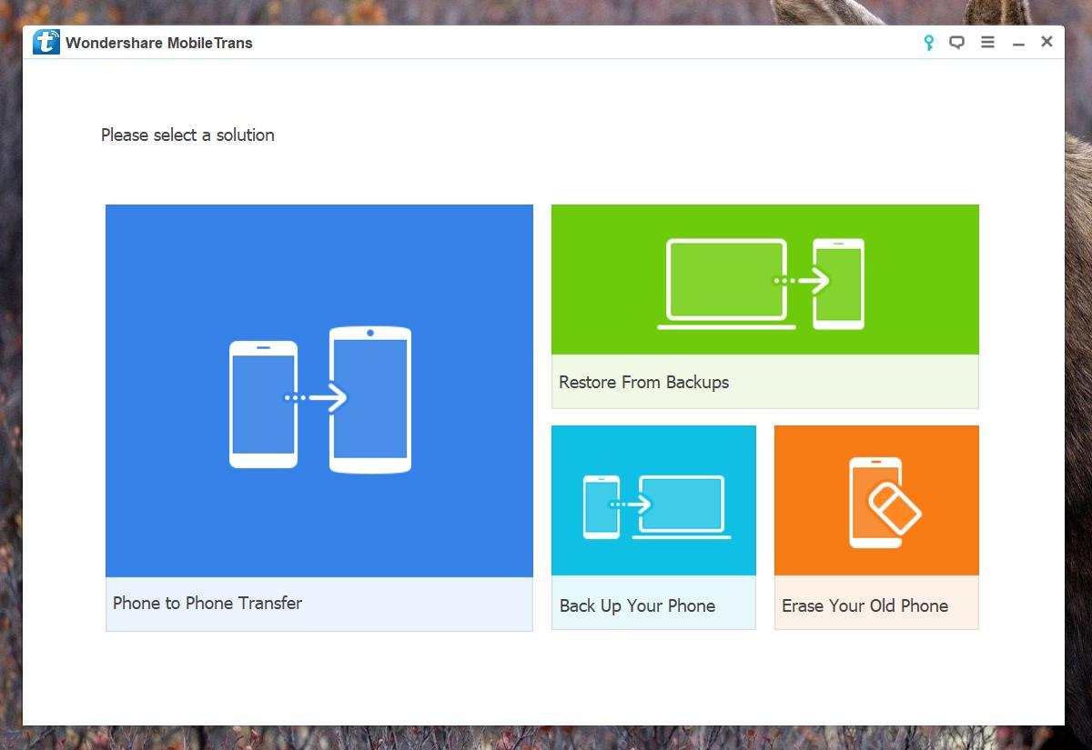Top Outils Sauvegarde application et données d'application Android MobileTrans