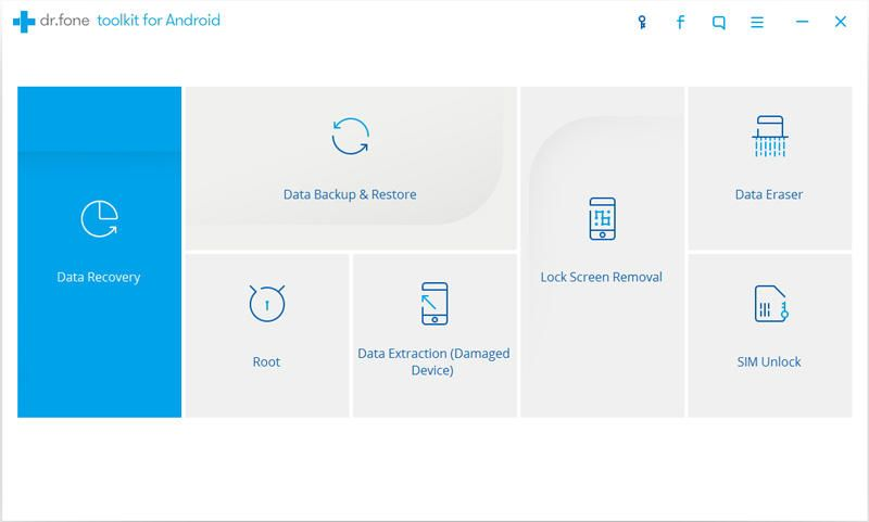 Top Outils Sauvegarde application et données d'application Android Dr Fone