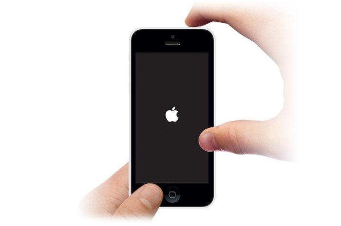 Réparer l'iPhone gelé en forçant le redémarrage de l'iPhone