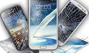 Flash Un téléphone Android avec écran cassé
