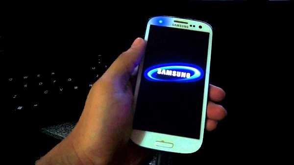 Galaxy S6 coincé dans l'écran de démarrage