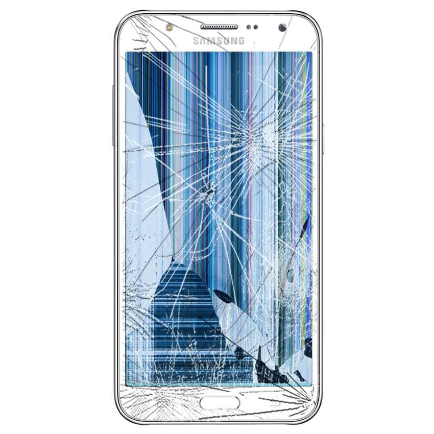Écran cassé Samsung