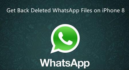 Restaurer les images WhatsApp de l'iPhone 8