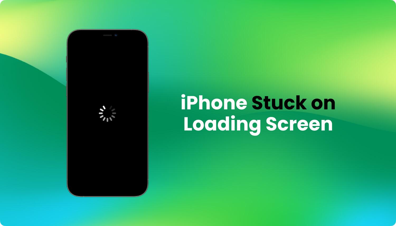 Iphone coincé sur l'écran de chargement